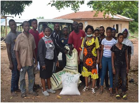 SWFSREP Inputs donated to Aborisade Village