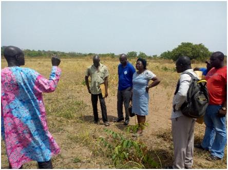 SWFSREP Scientist on baseline survey in Oniyo village