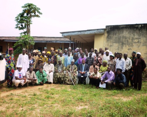 Cross section of the farmers who participated at the ceremonial field day in Oke Osun, Osun State