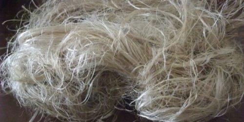 Kenaf fibre yarn