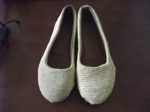 Kenaf shoes